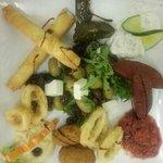 mix meze platter ( starter)