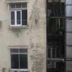 Aussicht vom Zimmerfenster1