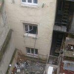 Aussicht vom Zimmerfenster2