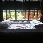 One of the single beds on 2nd floor, Villa Shorea