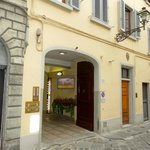 Front of hotel on VIA FAENZA (Little to show it is the hotel)