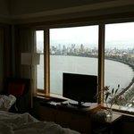 Zimmer 2002 - Blick vom Bett bei Tag