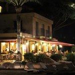 Le restaurant le soir