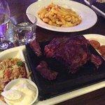 The Sizzling Steak Platter (Rib Eye)
