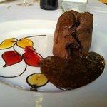 Coulant de chocolate - Delicioso