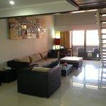 Lounge room - 3 bedroom suite