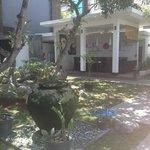 Nice garden area