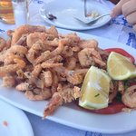 Wonderful fried shrimp