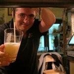 Fantastic award winning locally produced beer at La Cantina della Birra
