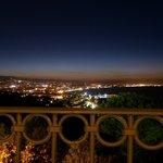 Kvällsutsikt från balkong