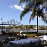 View from Customs House Restaurant Terrace - Brisbane