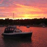 Sunset at Wootton Creek, Fishbourne, Isle of Wight