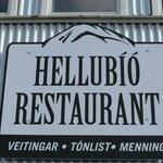 Hellubio Restaurant in Hella, Iceland
