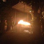 Camp fire & BBQ