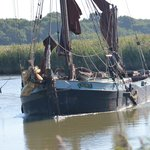Snape Maltings riverside.