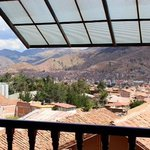 View from the Casa Andina Hotel, Cusco, Lima