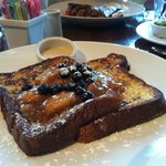 Weekend brunch Banana's Foster French Toast