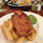 fish and chips...