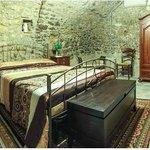 Camera da letto della stanza matrimoniale speciale