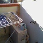 Сушилка на балконе