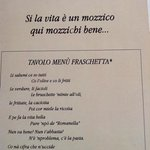 menu fraschetta