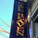 Cafe Heaven Sign