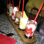 Complimentary milkshake sampler!