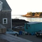 from the deck of Frank's Dockside Restaurant, Lubec ME