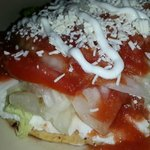 Panela Cheese tostada if you are looking for something lighter