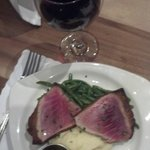 Wasabi-Crusted Tuna Steaks