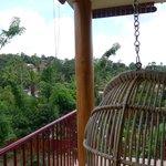 Notre terrasse privée