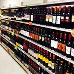 Wonderful wine selection