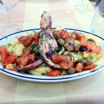 Octopus, Potatoes and Tomatoes