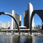 Toronto's new city hall from different angles.