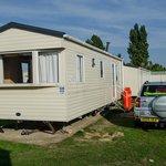 Our 2-berth park home at Breydon Water, Norfolk