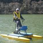 Lake activities include hydrobiking, kayaking and a boat cruise on Lake Austin.
