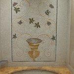 Hand laid mosaic