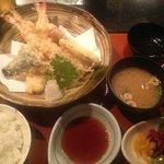 ランチ:天ぷら定食