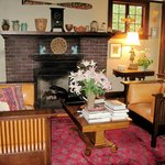 Foxglove living room area