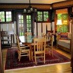 Foxglove dining room