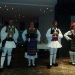 Greek dancers at the greek night
