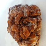 Best apple fritters, ever -- easily enough for 2