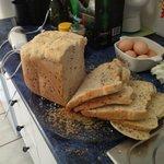 Freshly bake bread