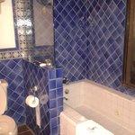 Me encantó el baño, riquísimo, muy limpio y hermoso