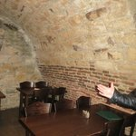 Seating in the cellar