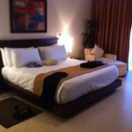 President suit 37&38 stayed for three nights up grade to villa