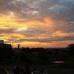 Sunset at rhe Atlantic Inn
