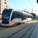 Tram at Villajoyosa