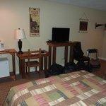 Chambre, spacieuse et équipée