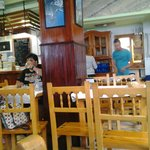 Interior del restaurante.
